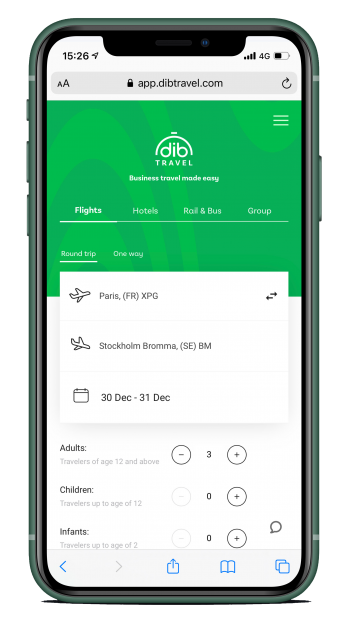 Dib Travel App Demo